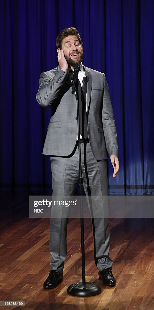 John Krasinski during a skit on May 7, 2013 --