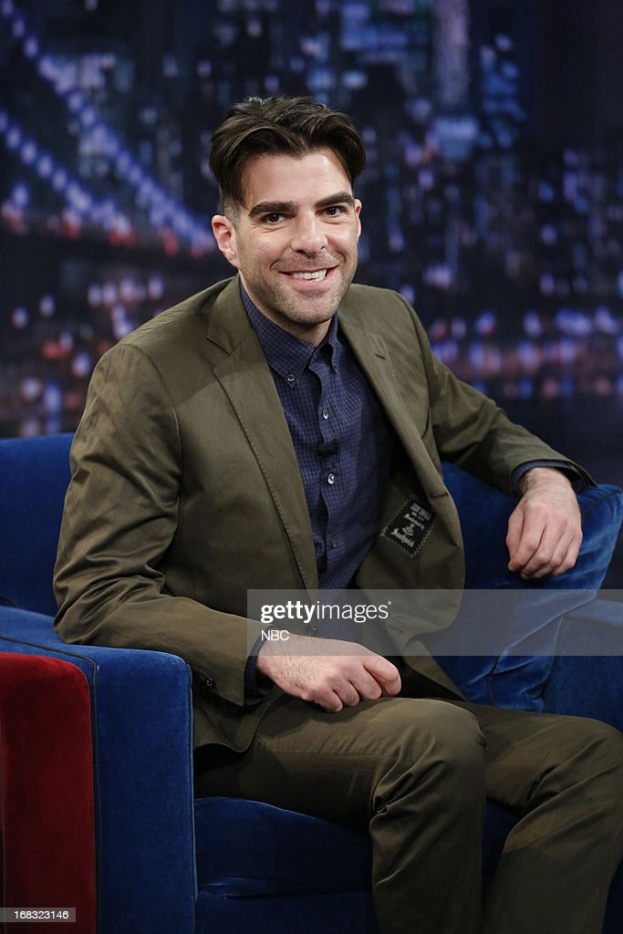 Zachary Quinto on May 8, 2013 --