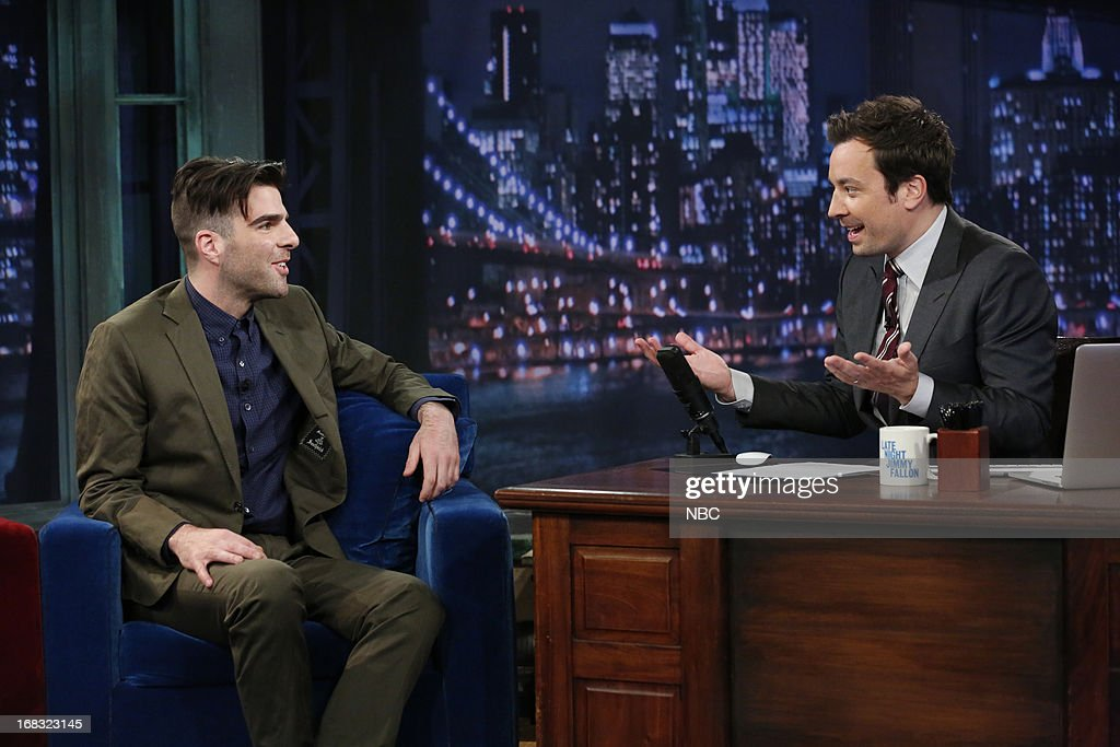"NBC's ""Late Night with Jimmy Fallon"" with guests Rachel Maddow, Zachary Quinto, Lady Antebellum"