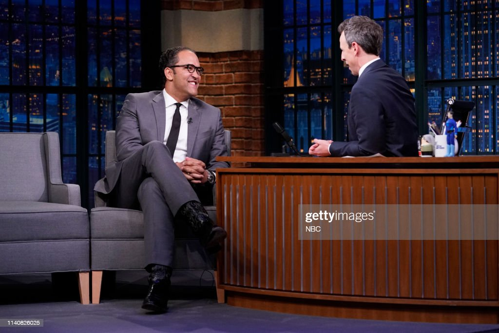 "NY: NBC'S ""Late Night With Seth Meyers"" With Guests Adam Sandler, Congressman Will Hurd (Band Sit In: Valerie Franco)"