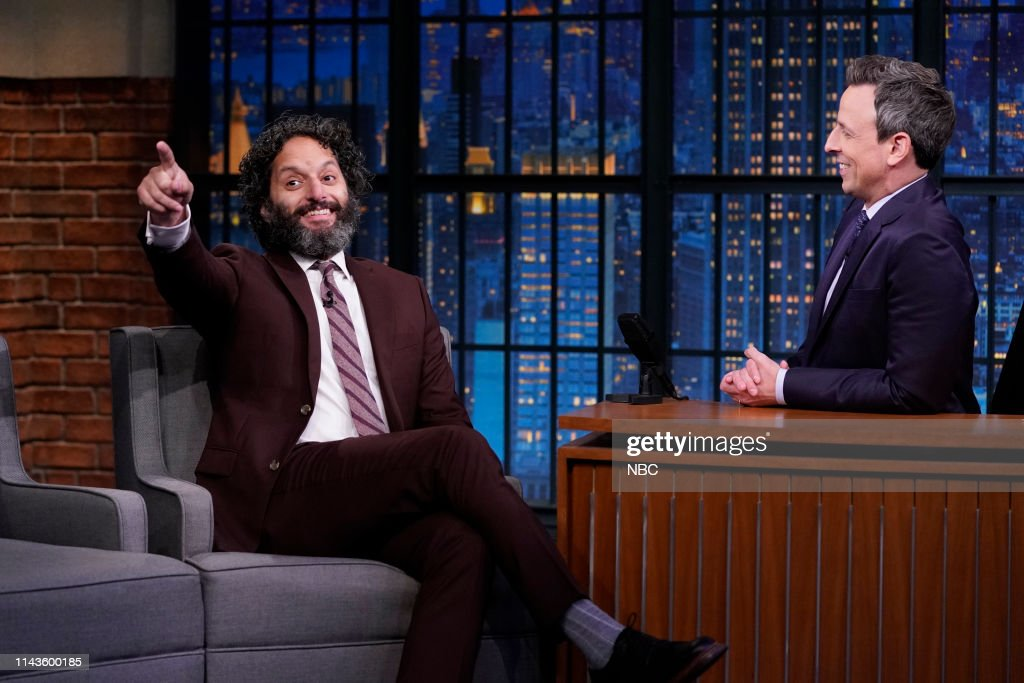 "NY: NBC'S ""Late Night With Seth Meyers"" With Guests Anthony Anderson, Jason Mantzoukas, Rep. Rashida Tlaib (Band Sit In: Johnny Radelat)"
