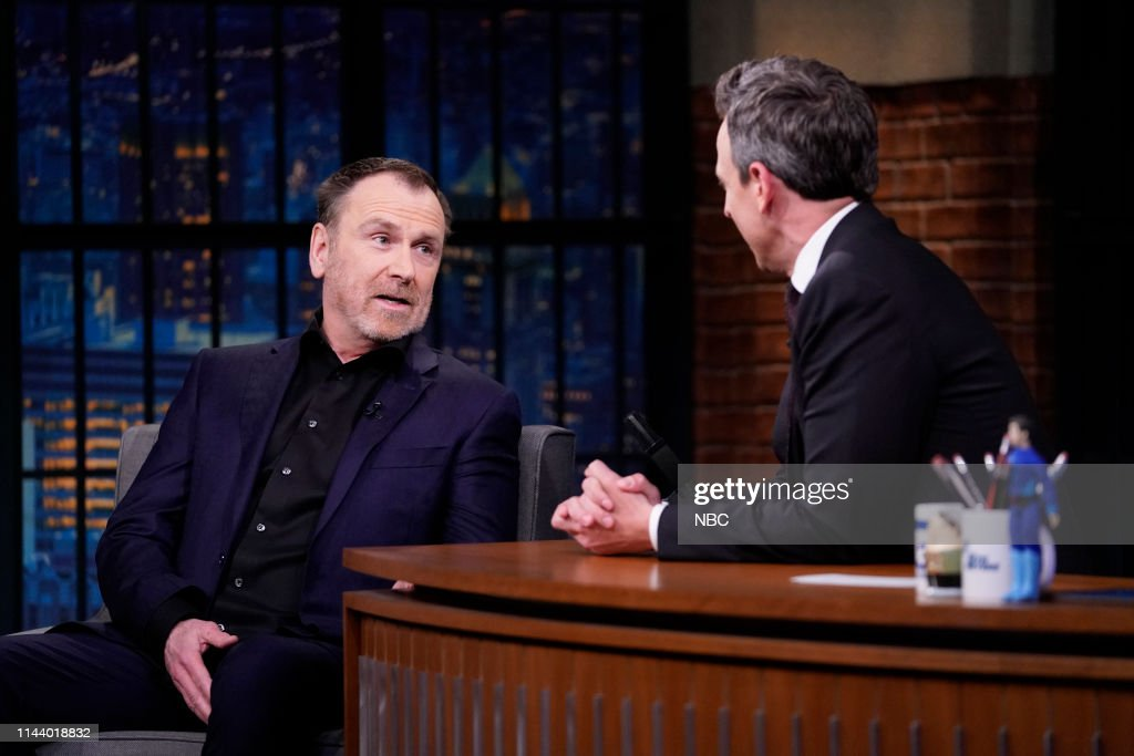 "NY: NBCU's ""Late Night With Seth Meyers With Guests Colin Quinn, Margo Martindale, PKEW PKEW PKEW (Band Sit In: Johnny Radelat)"