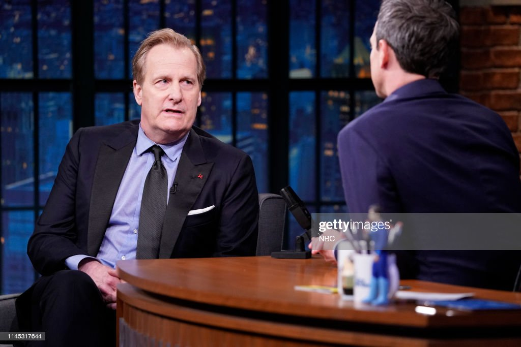 "NY: NBC'S ""Late Night With Seth Meyers"" With Guests Jeff Daniels, Logan Browning, Ann Beattie (Band Sit In: Sebastian Thomson)"