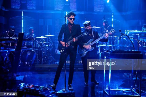 Dave 1 and PThugg of musical guest Chromeo perform on May 21 2019