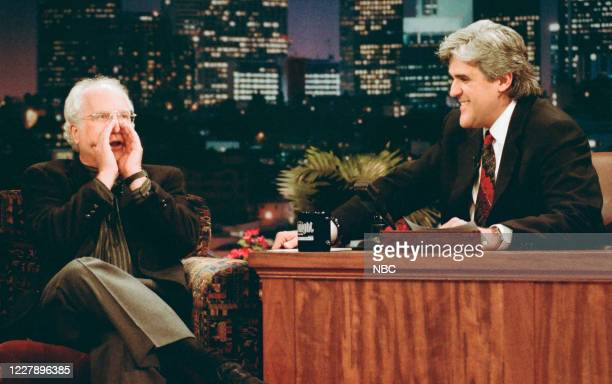Episode 844 -- Pictured: Actor Richard Dreyfuss during an interview with host Jay Leno on January 18, 1996 --