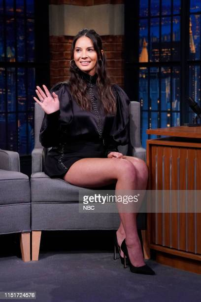 Episode 852 -- Pictured: Actress Olivia Munn during an interview on June 24, 2019 --