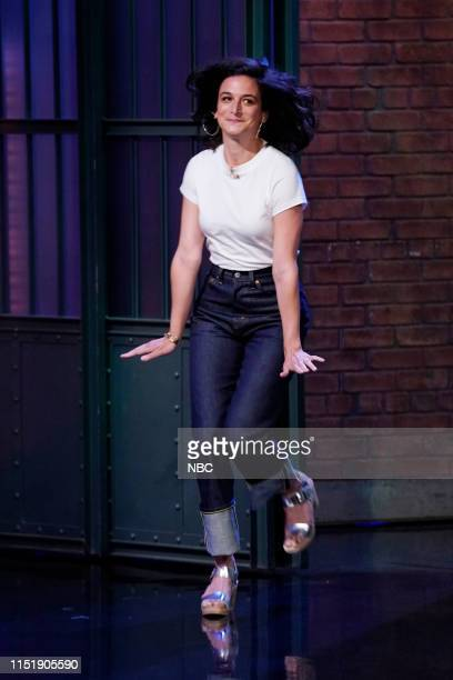 Episode 853 -- Pictured: Actress Jenny Slate arrives on June 25, 2019 --