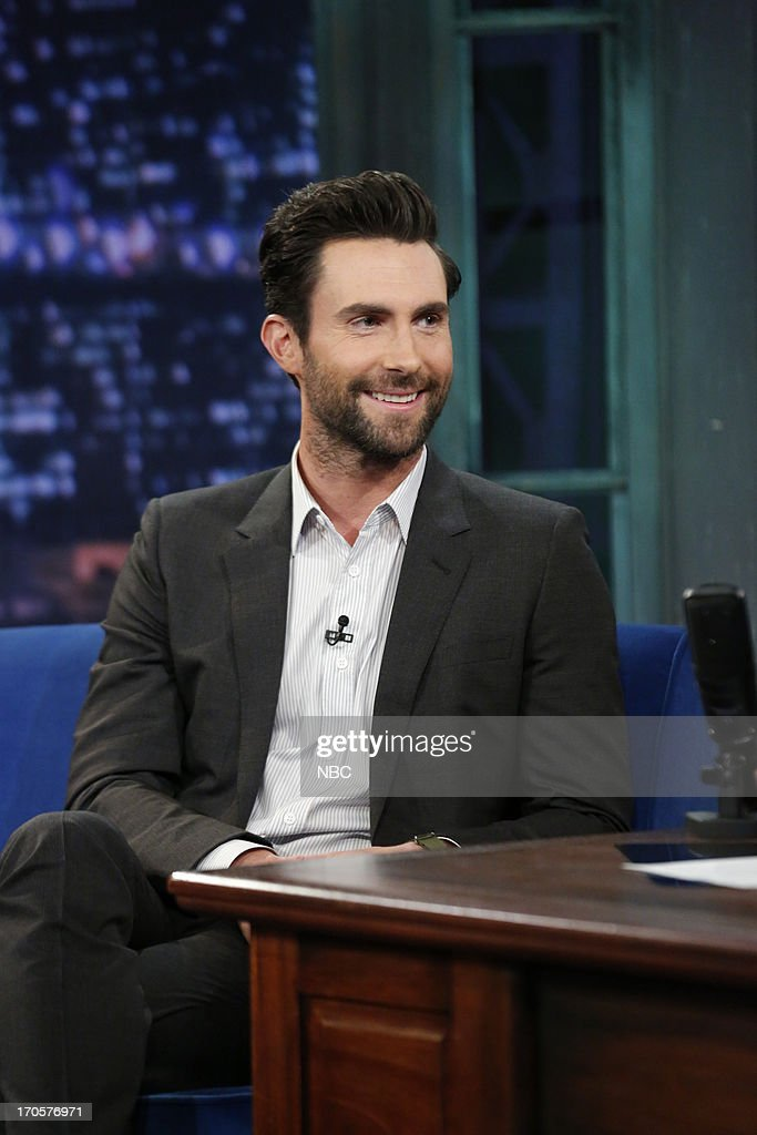 Singer Adam Levine on June 14, 2013 --