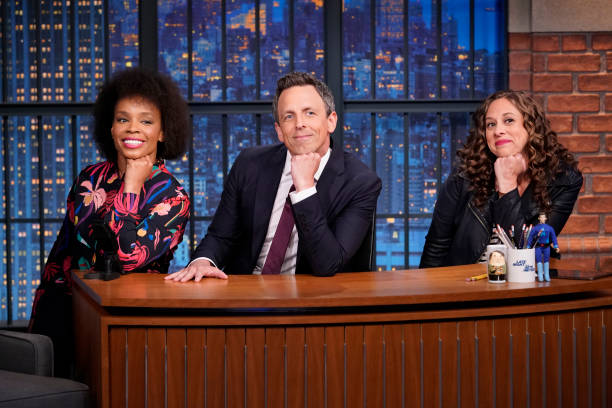 "NY: NBC's ""Late Night With Seth Meyers"" LIVE SHOW With Guests Terry Crews, Anthony Jeselnik (Band Sit In: Jon Wurster)"