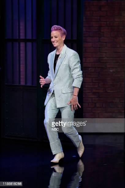 Megan Rapinoe World Cup Champion and US Womens National Soccer Team CoCaptain arrives on July 15 2019