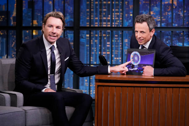 "NY: NBC'S ""Late Night With Seth Meyers"" With Guests Dax Shepard, Nicolle Wallace, Weyes Blood (Band Sit In: Rhagav Mehrotra)"