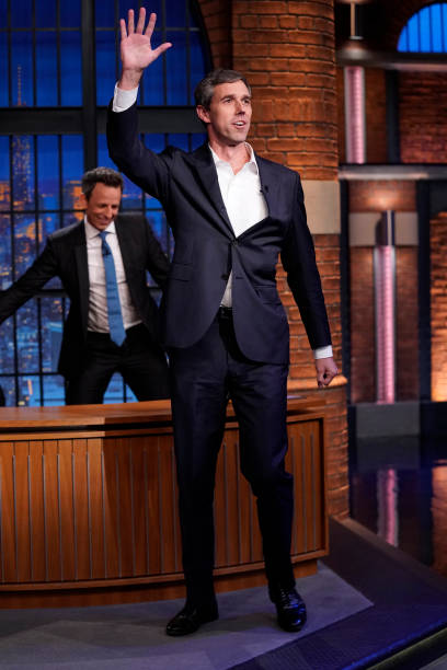 "NY: NBC'S ""Late Night With Seth Meyers"" With Guests Beto O'Rourke, Retta, Hunter Schafer"