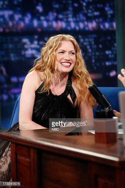 Mireille Enos during an interview on July 10 2013