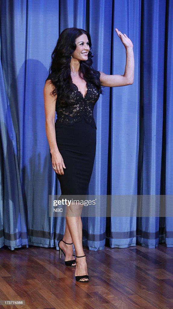 "NBC's ""Late Night with Jimmy Fallon"" with guests Catherine Zeta-Jones, Colin Quinn, Gogol Bordello"