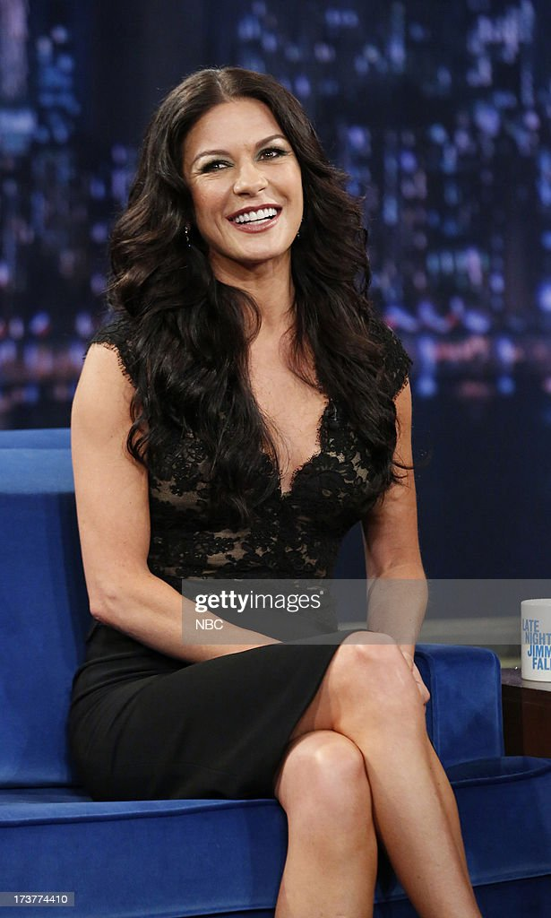 Catherine Zeta-Jones on July 17, 2013 --