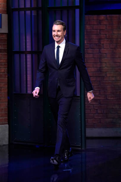 """NY: NBC'S """"Late Night With Seth Meyers"""" With Guests Dax Shepard, Lilly Singh (Band Sit-In: Yesod Williams)"""