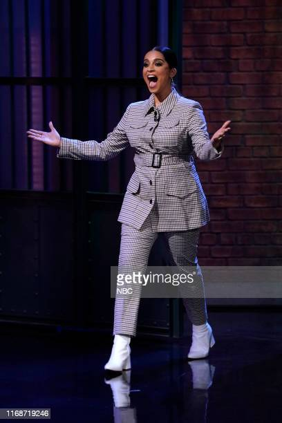 Lilly Singh host of A Little Late with Lilly Singh arrives on September 16 2019
