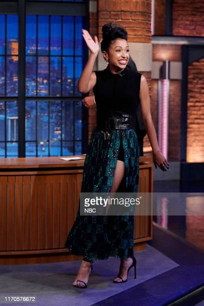 Actress Liza Koshy arrives on September 23 2019