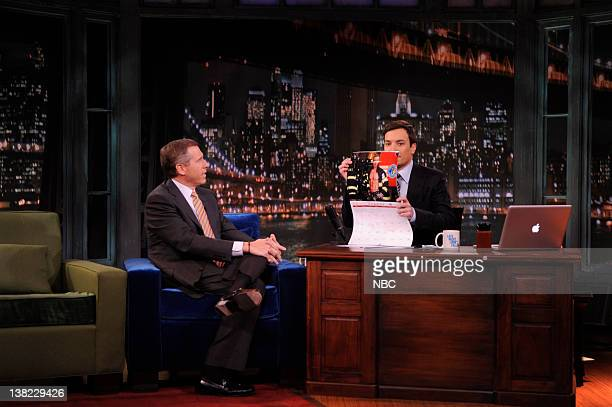 FALLON Episode 9 Airdate Pictured NBC News Anchor Brian Williams during an interview with host Jimmy Fallon on March 12 2009
