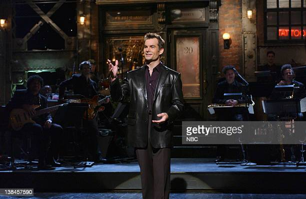 LIVE Episode 9 Aired Pictured Jeff Gordon during the monologue on January 11 2003