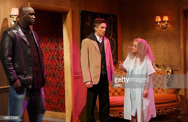 LIVE Episode 9 Aired Pictured Topher Grace as Tyler Rachel Dratch as Dot during Beaver Ranch skit