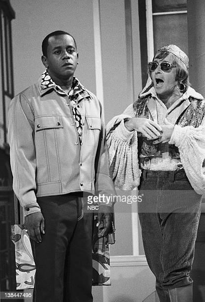 Episode 9 -- Aired 11/13/70 -- Pictured: Host Flip Wilson, Arte Johnson