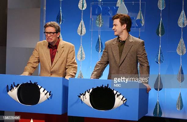 LIVE Episode 9 Aired Pictured Fred Armisen as Jerry Bertrand Justin Timberland as Brett O'Connor during Dry Eyes skit on December 16 2006