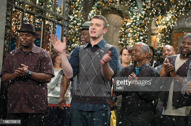 LIVE Episode 9 Aired Pictured Justin Timberlake onstage December 16 2006