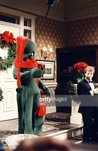 Eddie Murphy as Gumby during the 'Merry Christmas Dammit' skit on December 11 1982 Photo by Alan Singer/NBC/NBCU Photo Bank