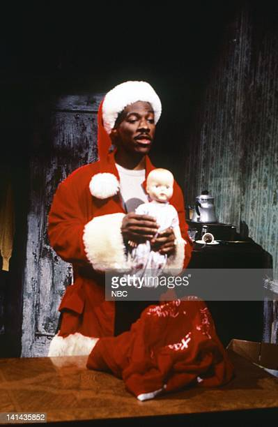 Eddie Murphy as Mr Robinson during the 'Mr Robinson's Neighborhood' skit on February 181984 Photo by RM Lewis Jr/NBC/NBCU Photo Bank