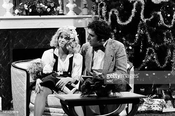 Gilda Radner as Christina Crawford and Elliott Gould as Archer Armstrong during the 'Mommie Dearest' skit on December 16 1978 Photo by NBC/NBCU Photo...