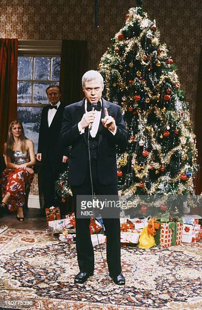 Joe Piscopo as Frank Sinatra during the 'Merry Christmas Dammit' skit on December 11 1982 Photo by Alan Singer/NBC/NBCU Photo Bank