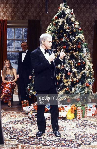 Joe Psicopo as Frank Sinatra during the 'Merry Christmas Dammit' skit on December 11 1982 Photo by Alan Singer/NBC/NBCU Photo Bank