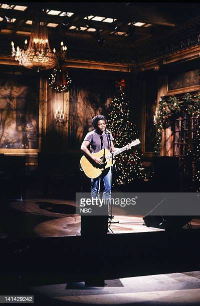 Episode 9 -- Pictured: Tracy Chapman during the musical performance of 'All That You Have' on December 16, 1989 -- Photo by: Raymond Bonar/NBC/NBCU...