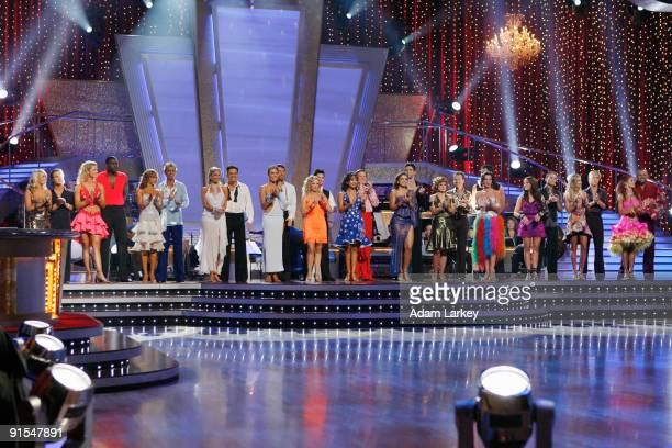 SHOW Episode 903A After a night of Samba and Rumba the fourth couple eliminated from the competition was announced on Dancing with the Stars the...