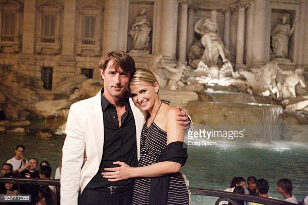 """Episode 904"""" - Lorenzo shares a private dinner with Jennifer in front of the Vatican, which also happens to have the Borghese name on its fa�ade...."""