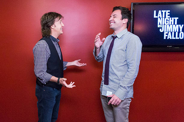Paul McCartney And Jimmy Fallon Switch Accents On October 7 2013