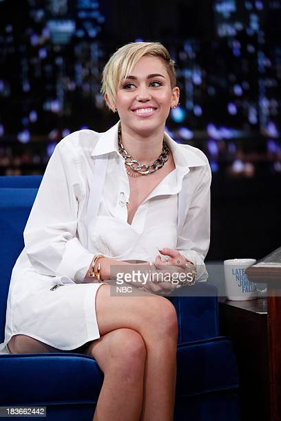 Miley Cyrus on Tuesday October 8 2013