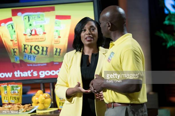 TANK 'Episode 908' Husband and wife entrepreneurs from Atlanta Georgia introduce the Sharks to their famous seafood breading mix business an...
