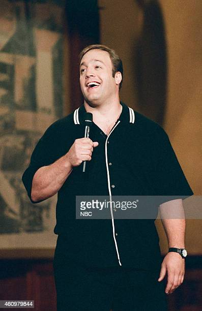 Comedian Kevin James performs on April 25 1996