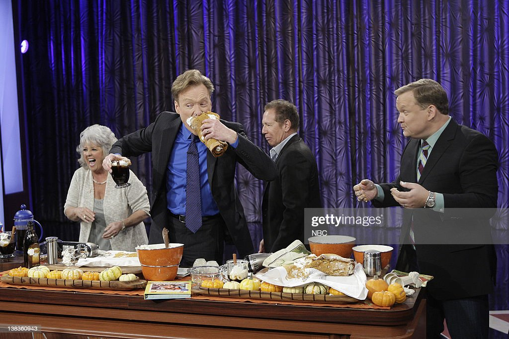 The Tonight Show with Conan O'Brien : News Photo
