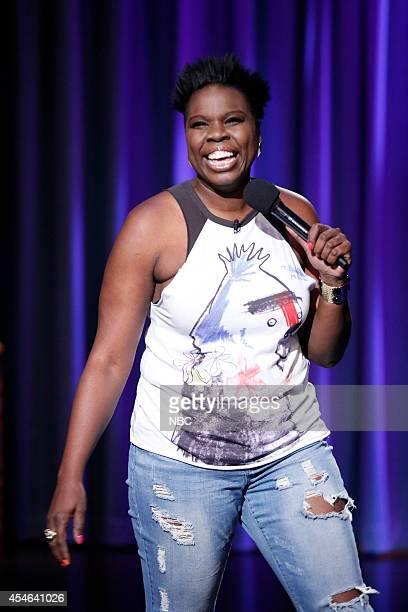 Episode 91 -- Pictured: Comedian Leslie Jones performs on September 4, 2014 --