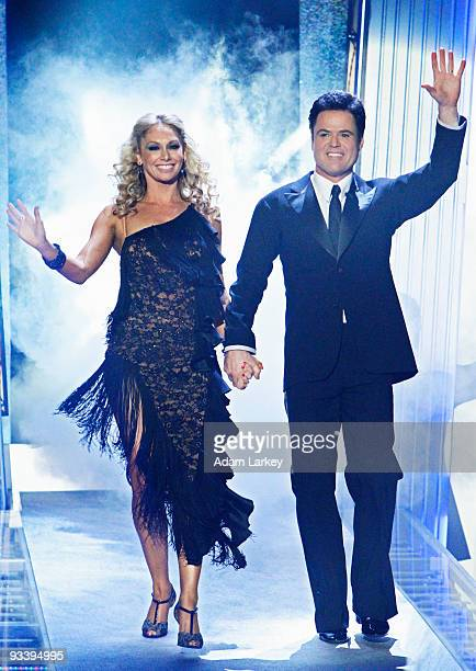SHOW 'Episode 910A' After ten weeks of surprises and dazzling performances Mya Kelly Osbourne and Donny Osmond have stood out in the largest group of...