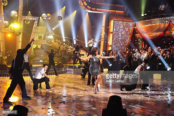 SHOW 'Episode 910A' In a special performance for the 'Dancing with the Stars' Tuesday night finale Whitney Houston livened up the dance floor with...