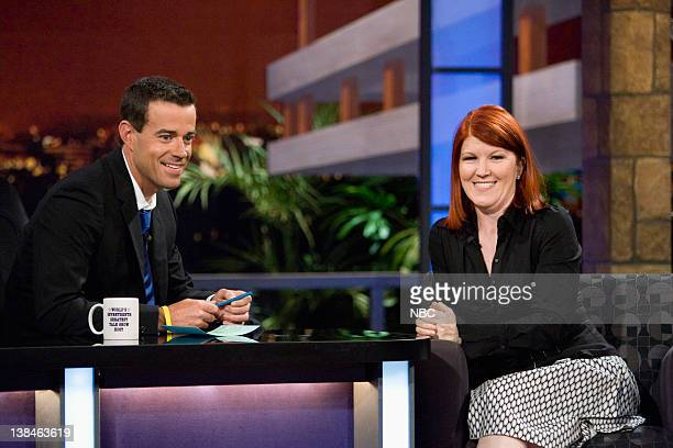 DALY Episode 911 airdate Pictured Carson Daly Kate Heffernan