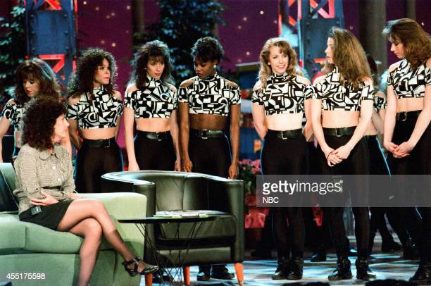 The Chicago Luvabulls during rehearsals on May 3 1996