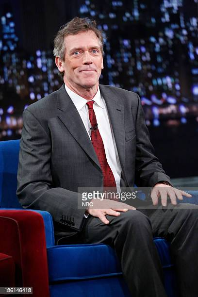 Hugh Laurie on Monday October 28 2013