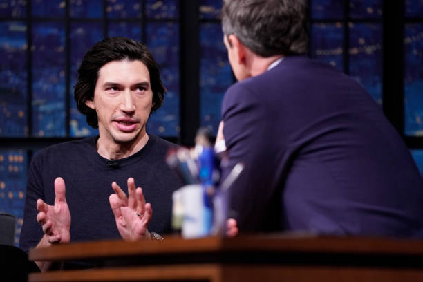 "NY: NBC'S ""Late Night With Seth Meyers"" With Guests Adam Driver, Jonathan Groff, HOZIER (Band Sit-In Jon Theodore)"