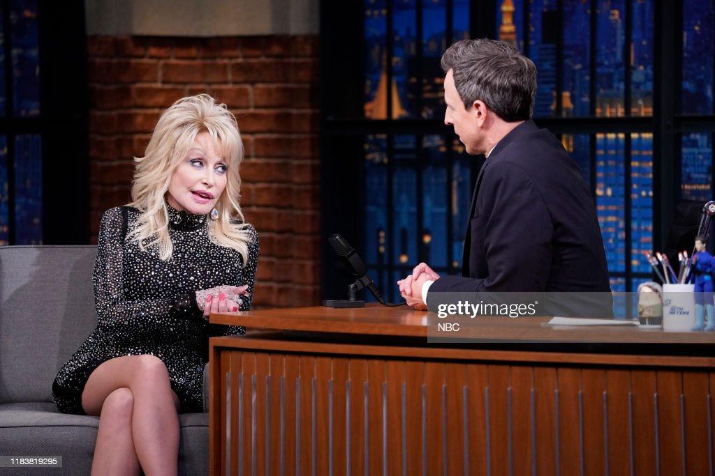 Late Night with Seth Meyers - Season 7 : News Photo