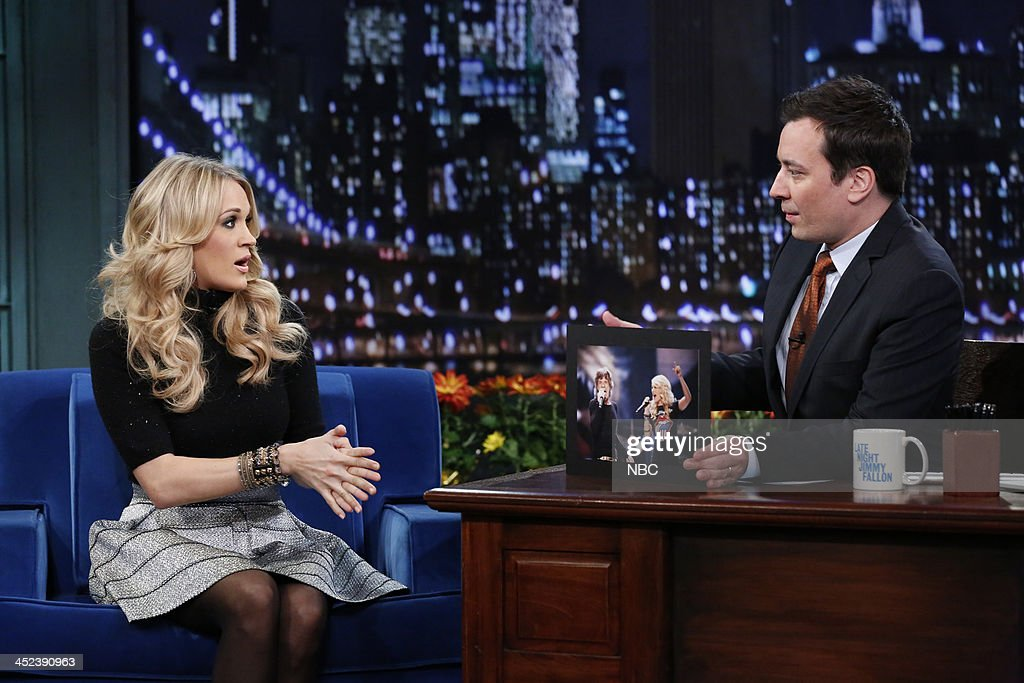 Late Night with Jimmy Fallon - Season 5 : News Photo